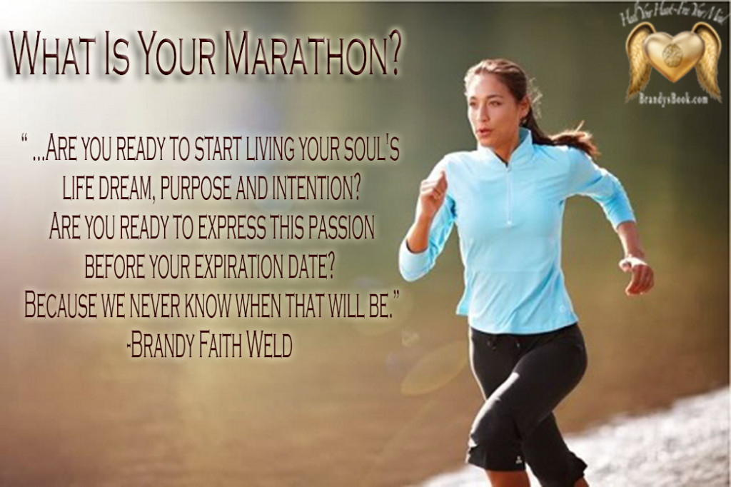 What is your marathon-